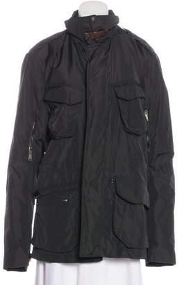 Ralph Lauren Black Label Collared Zip-Up Jacket