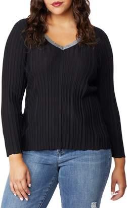 Wilson Rebel X Angels Sparkle V-Neck Sweater