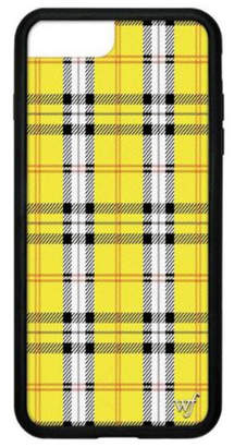 Wildflower Cases Yellow Plaid iPhone 6+/7+/8+ Plus Case