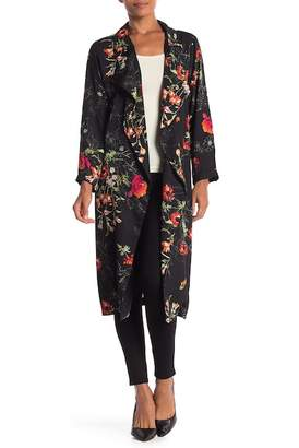 Lush Floral Printed Kimono