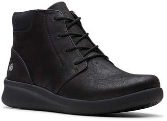 Clarks CloudSteppers Women Sillian 2.0 Way Lace-Up Booties Women Shoes
