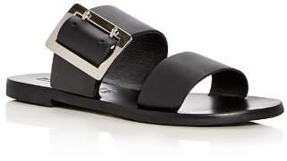 Sol Sana Women's April Leather Slide Sandals
