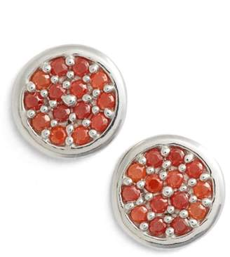 Argentovivo Cubic Zirconia Stud Earrings