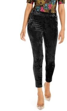 Thalia Sodi Velvet Stretch Leggings, Created For Macy's