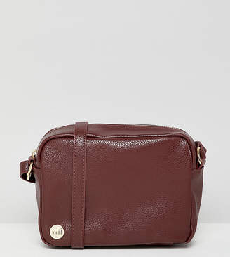 Mi-Pac Mi Pac Tumbled Oxblood Cross Body Bag