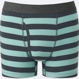 Uniqlo Men's Supima Cotton Striped Boxer Briefs