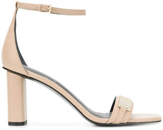 KENDALL + KYLIE Kendall+Kylie box chain embellished sandals