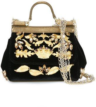 Dolce & Gabbana mini 'Sicily' tote $2,945 thestylecure.com