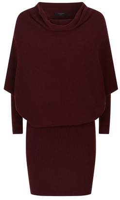 AllSaints Ridley Knitted Cowl Dress