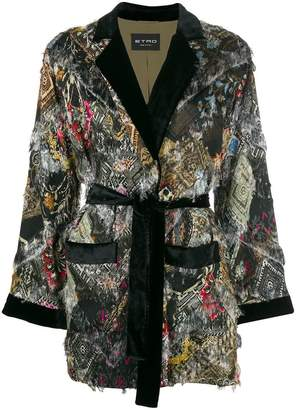 Etro giacca jade robe