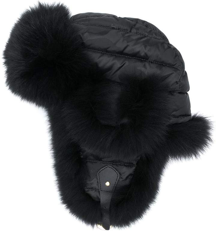 Liska panelled trapper hat