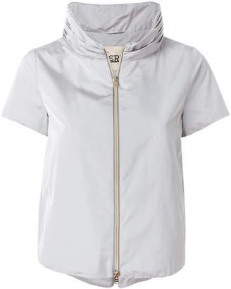 Herno shortsleeved zipped jacket