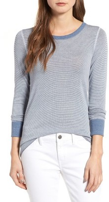Women's Treasure & Bond Old School Thermal Tee $59 thestylecure.com