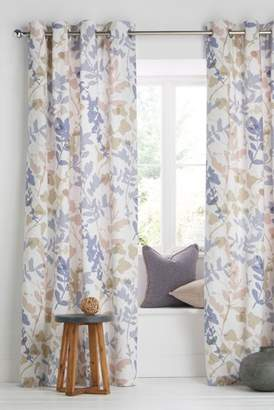 Next Silhouette Leaf Curtains
