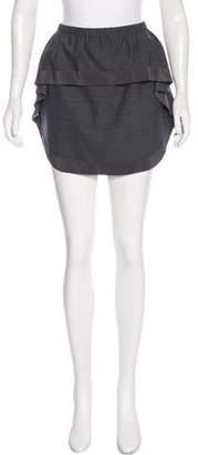Thakoon Flounce-Trimmed Mini Skirt