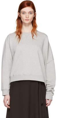 Maison Margiela Grey Basic Asymmetic Pullover