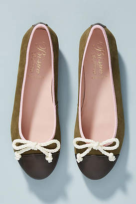 Bisue Ballerinas Colorblocked Ballet Flats