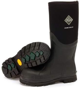 Muck Boot Men's Chore Cool Black 16'' Steel Toe Boots 14 M US
