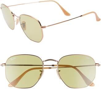 a7c40e500ed57 Ray-Ban 54mm Evolve Photochromic Hexagon Sunglasses