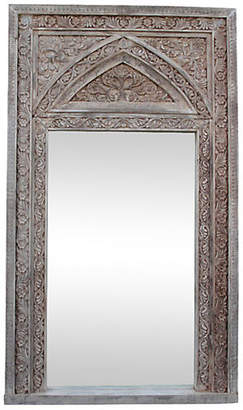 Carved White Mirror - ShopStyle