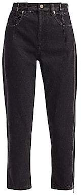 3.1 Phillip Lim Women's Zip Detail Jeans