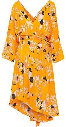 Diane von Furstenberg Eloise Printed Silk Wrap Dress