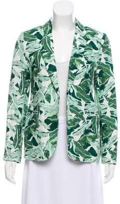 Joie Printed Linen Blazer