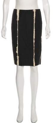 Jenni Kayne Knee-Length Print Skirt