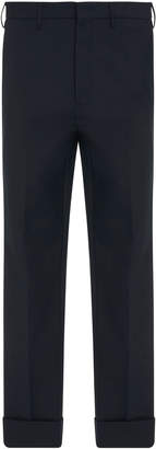 PT Forward Striped Cotton-Blend Skinny Pants