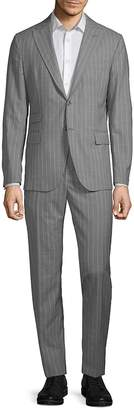 Eleventy Men's Wool Pinstripe Suit Set
