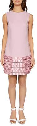 Ted Baker Marggia Pleated Satin Dress