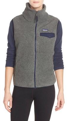 Women's Patagonia 'Snap-T' Fleece Vest $99 thestylecure.com