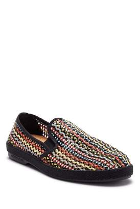 Rivieras LEISURE SHOES Lord Zelco Black Slip-On Sneaker