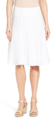 1cd85d2f0e Nic+Zoe Summer Fling Linen Blend Skirt