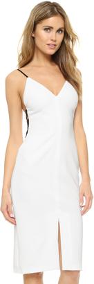 alice + olivia Sofie Side Strap Dress $348 thestylecure.com