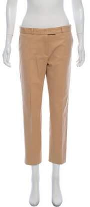 Joseph Mid-Rise Cropped Khaki Pants Khaki Mid-Rise Cropped Khaki Pants