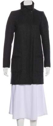 Comptoir des Cotonniers Structured Wool Coat