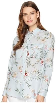 Lauren Ralph Lauren Floral Cotton Shirt Women's Clothing