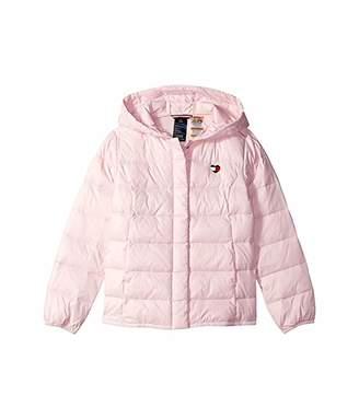 Tommy Hilfiger Adaptive Hooded Puffer Jacket (Little Kids/Big Kids)