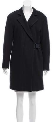 Eleventy Wool Knee-Length Coat w/ Tags