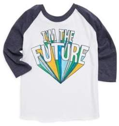 Chaser Toddler's, Little Boy's & Boy's Graphic Raglan Tee