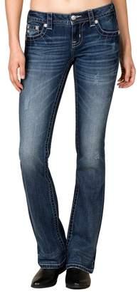Miss Me Denim Jeans Womens Cool Blue Boot Cut Medium JP7775B