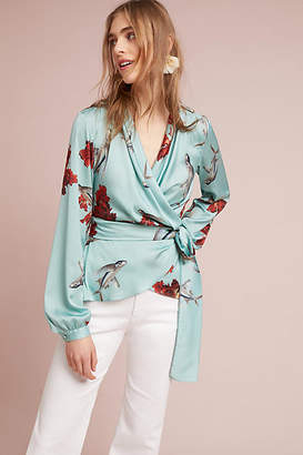PatBO Wrapped Fish Blouse