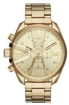Diesel Ms9 Chrono Stainless Steel Bracelet Watch