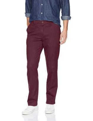 Amazon Essentials Men's Straight-Fit Casual Stretch Khaki