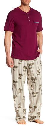 Tommy Bahama Yarn Dyed Pajama 2-Piece Set $82.50 thestylecure.com