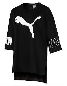 Puma Modern Sport Logo Tee Cotton