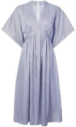 ADAM by Adam Lippes striped flared midi dress