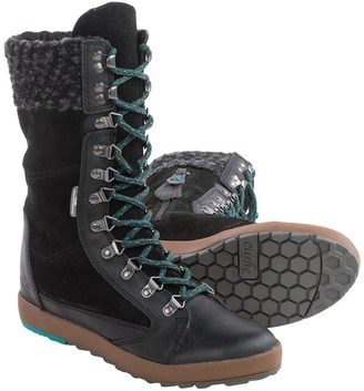 Cushe Boho Chill Boots - Hidden Wedge Heel, Leather (For Women) $79.95 thestylecure.com