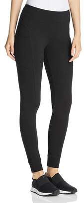 Andrew Marc Patch-Pocket Leggings